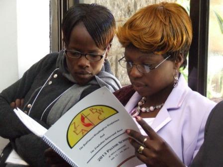 UM clergywomen Zimbabwe