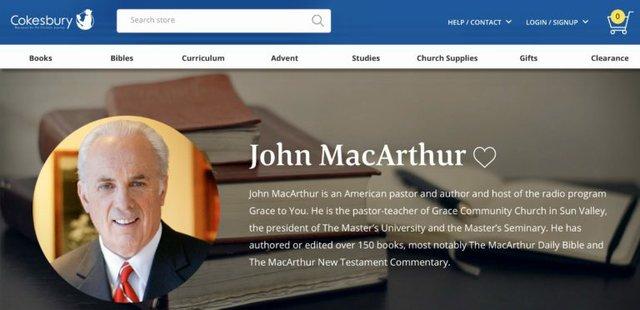 John MacArthur logo