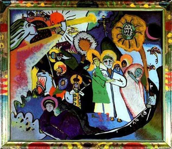 All Saints Kandinsky