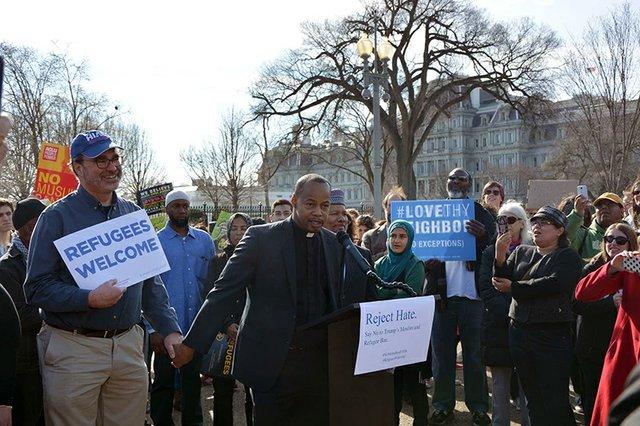 DC Refugee Protest