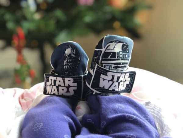 Star Wars baby shoes