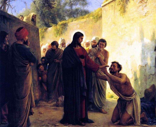 Healing a Blind Man