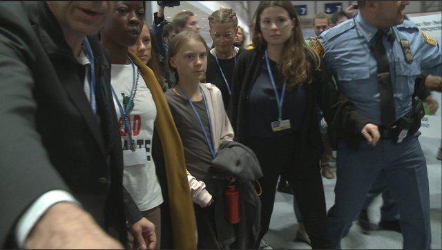 Greta at COP25