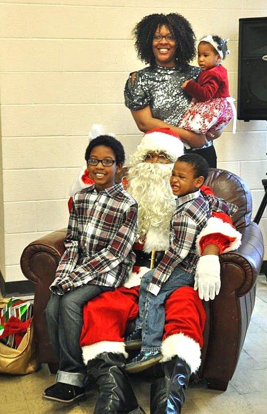 Garfield UMC Santa