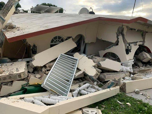 PR Home quake damage