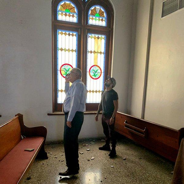 PR Bishop inspects