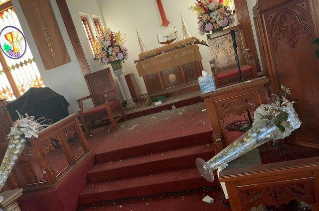 Chancel damage