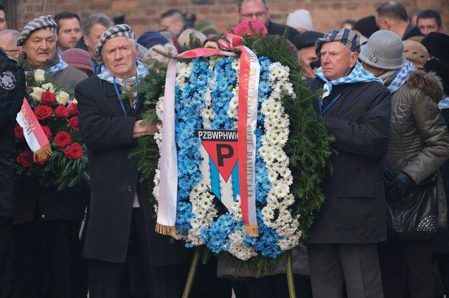 Auschwitz Anniversary Wreath