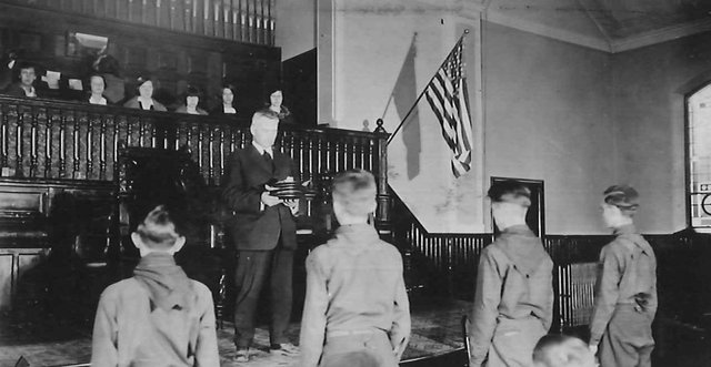 Boy Scouts Pastor