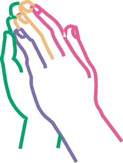 Colored prayer