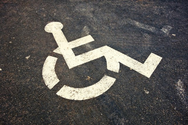 Wheelchair marker