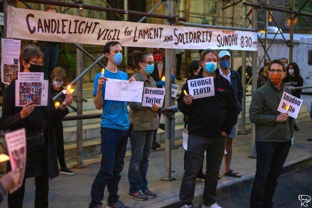 Candlelight Floyd Vigil