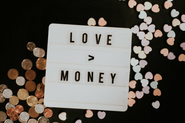 Love Greater than Money