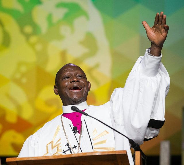 Bishop Yambasu, 2016 United Methodist General Conference