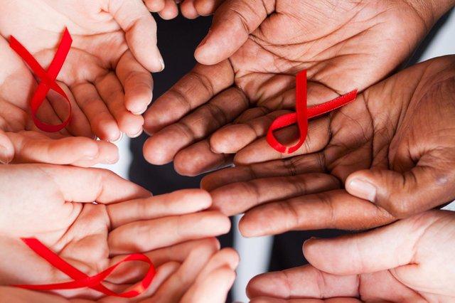 Global AIDS Ribbons