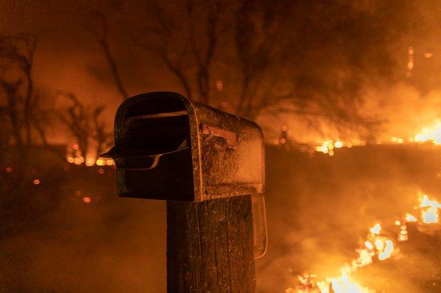 Calif. Wildfire 2020