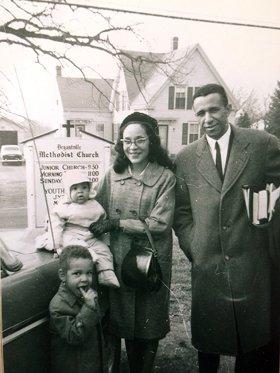 Gil Caldwell Family