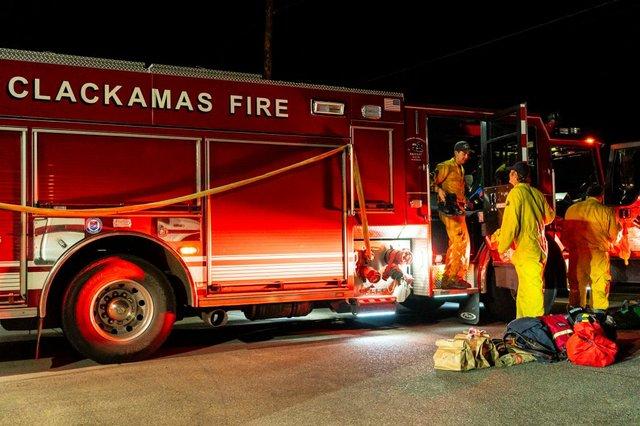 Clackamas Evacuation
