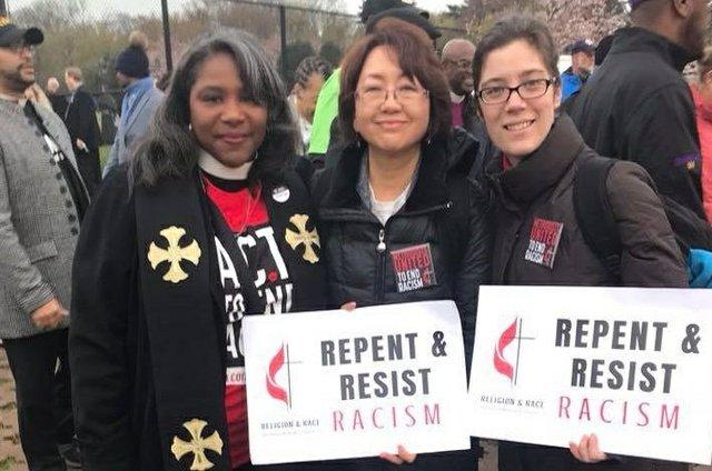 UMW Rally to End Racism