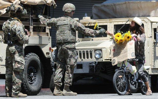 Soldier flower