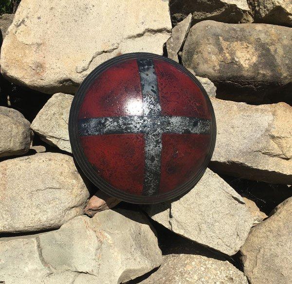 Cross on orb