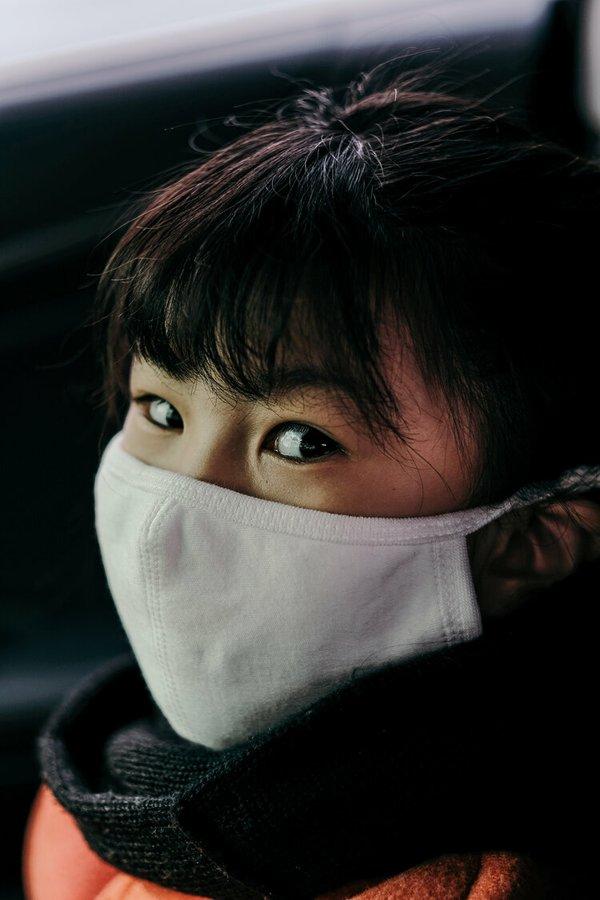 Asian woman mask