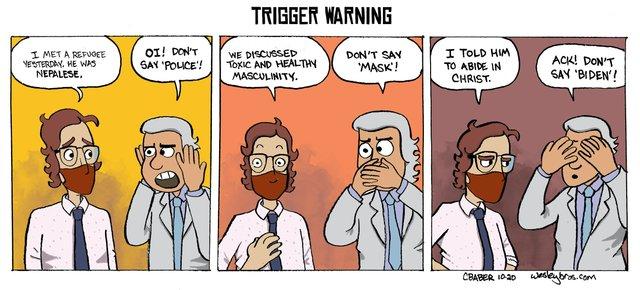 WB Trigger Warning