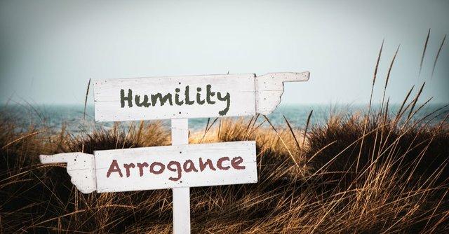 humility vs arrogance