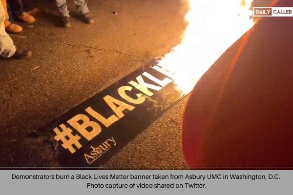 Asbury UMC Burned