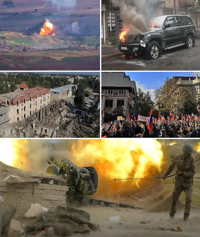Armenia War Collage