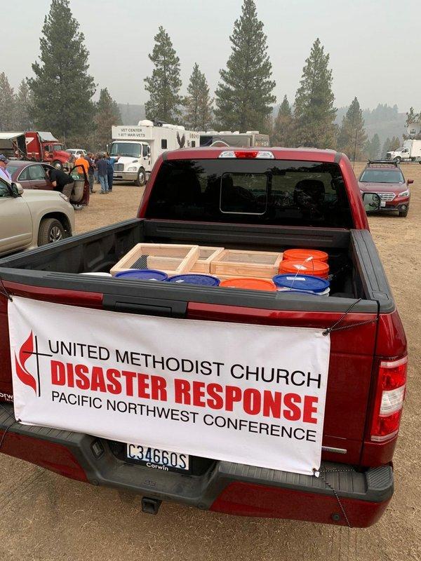 UMCOR Truck Banner