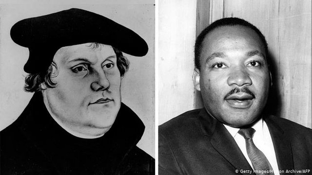 MLK Jr. and Martin Luther