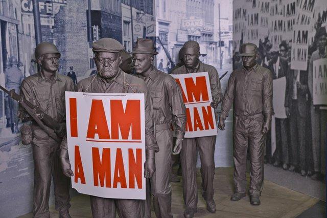 I Am a Man Statues