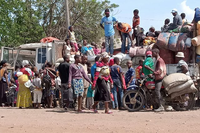 Congo Displaced People