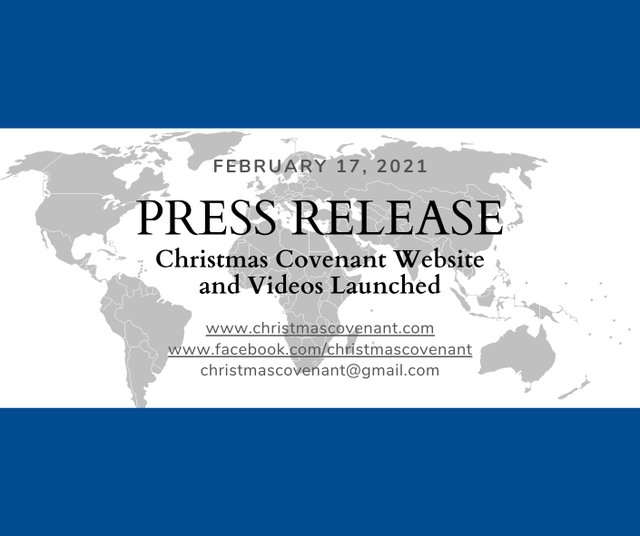 Christmas Covenant Launch