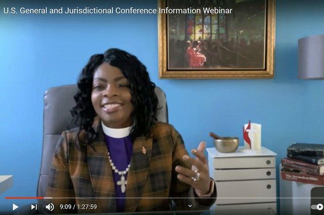 Bishops webinar host