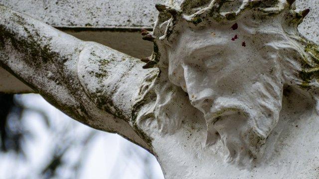 Crucifixion sculpture