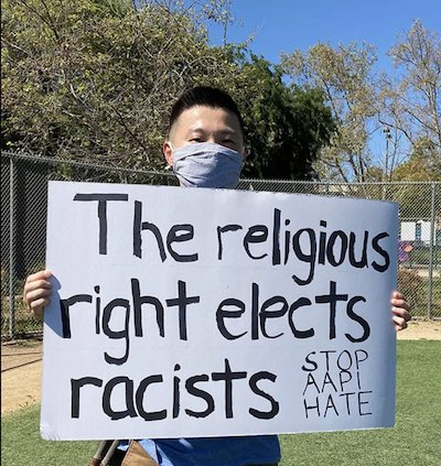 LA Asian rally