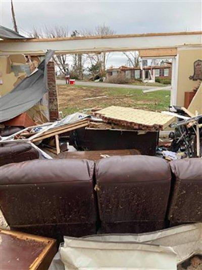 NGA Tornado Damagee